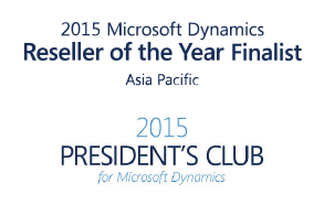 Dialog selected for 2015 Microsoft President's Club